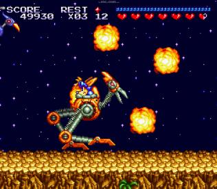 Sparkster SNES 054