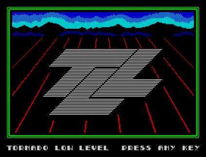 Tornado Low Level ZX Spectrum 01