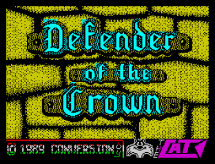 Defender of the Crown ZX Spectrum 01