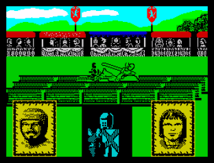 Defender of the Crown ZX Spectrum 09