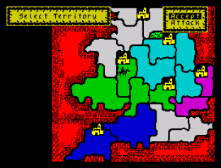 Defender of the Crown ZX Spectrum 20