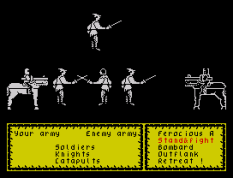 Defender of the Crown ZX Spectrum 21