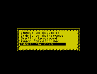 Defender of the Crown ZX Spectrum 23