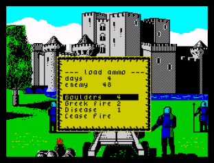 Defender of the Crown ZX Spectrum 31