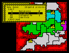 Defender of the Crown ZX Spectrum 40