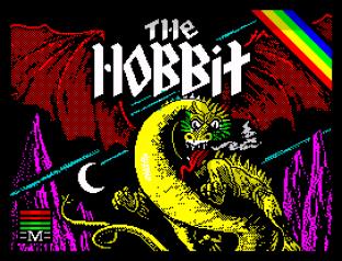 The Hobbit 128K Edition ZX Spectrum 01