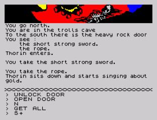 The Hobbit 128K Edition ZX Spectrum 12