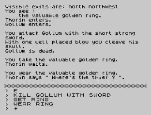 The Hobbit 48K ZX Spectrum 12