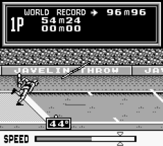 Track and Field Game Boy 32