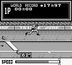 Track and Field Game Boy 55