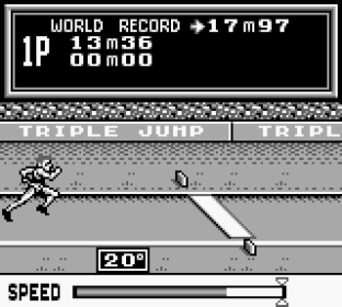 Track and Field Game Boy 56