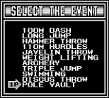Track and Field Game Boy 74