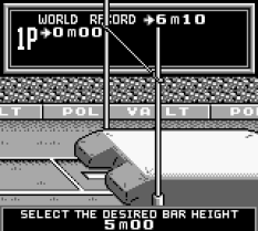 Track and Field Game Boy 76