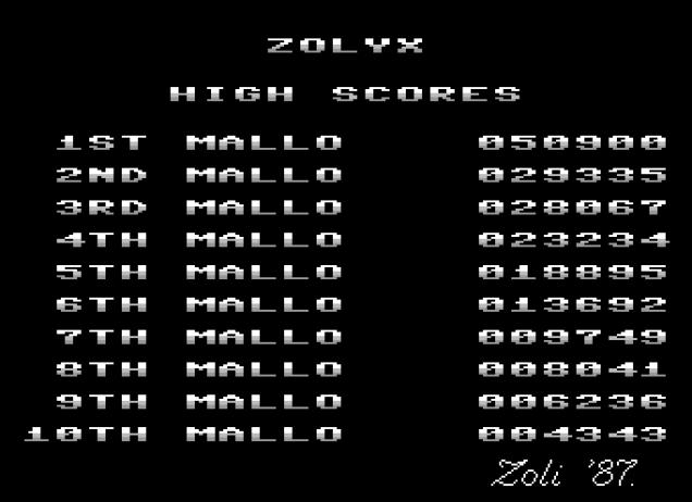 Zolyx C64 45