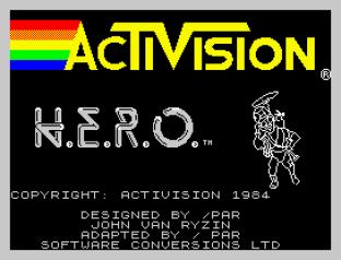 HERO ZX Spectrum 01