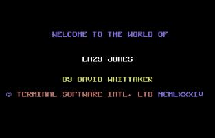 Lazy Jones C64 01