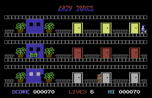 Lazy Jones C64 12