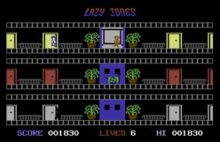 Lazy Jones C64 56