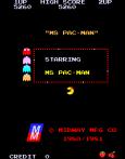 Ms Pac-Man Arcade 01