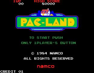 Pac-Land Arcade 01