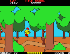 Pac-Land Arcade 21