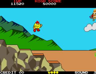 Pac-Land Arcade 34