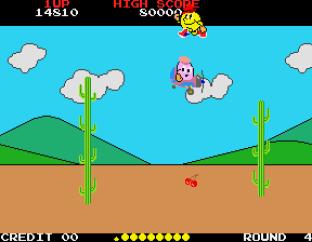 Pac-Land Arcade 45