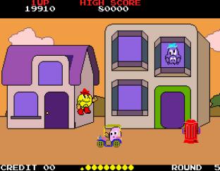 Pac-Land Arcade 56