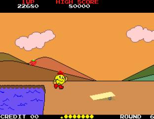 Pac-Land Arcade 64