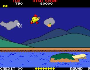 Pac-Land Arcade 75