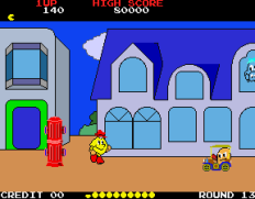 Pac-Land Arcade 76