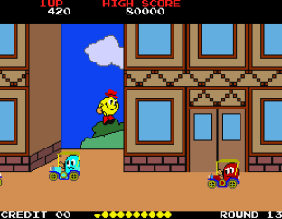 Pac-Land Arcade 78