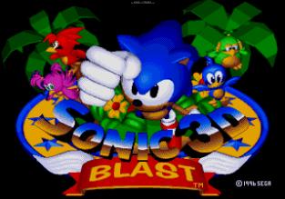 Sonic 3D Blast Megadrive 001