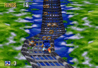 Sonic 3D Blast Megadrive 045