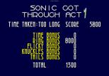 Sonic 3D Blast Megadrive 050