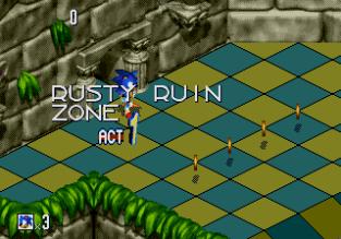 Sonic 3D Blast Megadrive 053