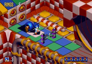 Sonic 3D Blast Megadrive 067