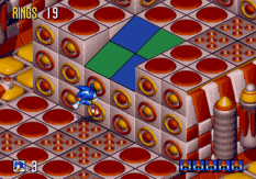 Sonic 3D Blast Megadrive 076