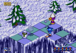 Sonic 3D Blast Megadrive 086