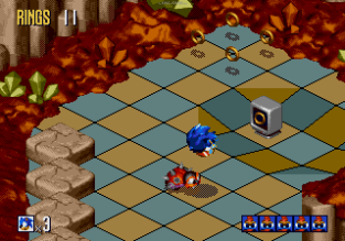 Sonic 3D Blast Megadrive 097