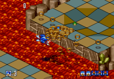 Sonic 3D Blast Megadrive 099