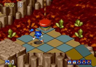 Sonic 3D Blast Megadrive 100