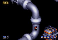 Sonic 3D Blast Megadrive 110