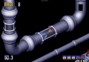 Sonic 3D Blast Megadrive 111