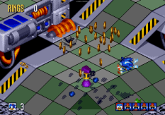 Sonic 3D Blast Megadrive 121