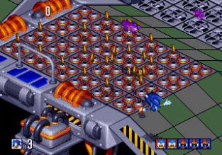 Sonic 3D Blast Megadrive 122