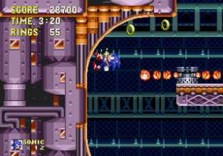 Sonic and Knuckles Megadrive 089