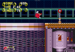 Sonic and Knuckles Megadrive 108