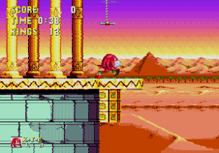 Sonic and Knuckles Megadrive 119