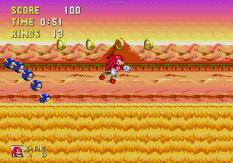 Sonic and Knuckles Megadrive 120